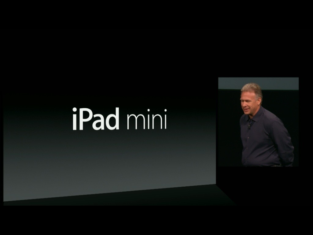 iPad mini – it's official. Announced by Apple today, it is every inch an iPad.